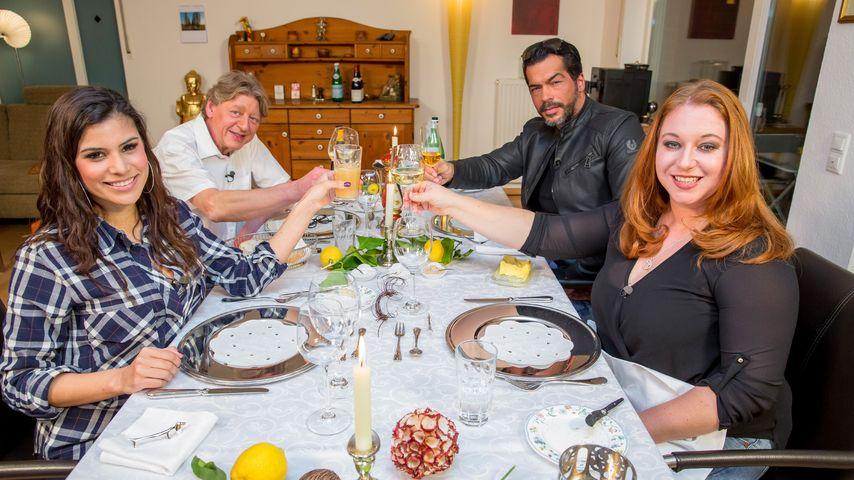 Tanja Tischewitsch, Aurelio Savina, Walter Freiwald und Rebecca Siemoneit-Barum