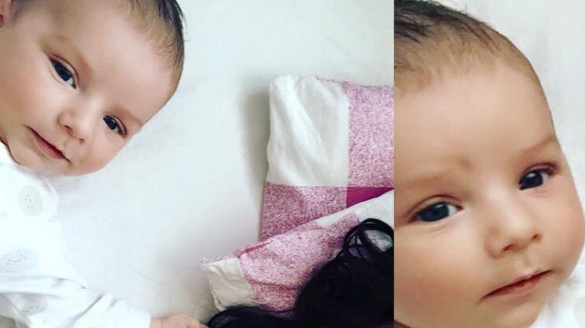 Schon 2 Monate alt: So putzig ist Tanja Tischewitschs Baby!