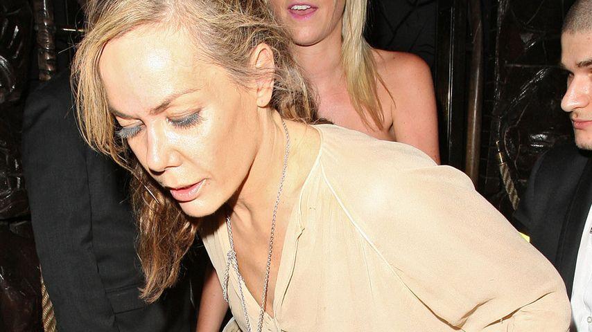Tara Palmer-Tomkinson nach einer Party
