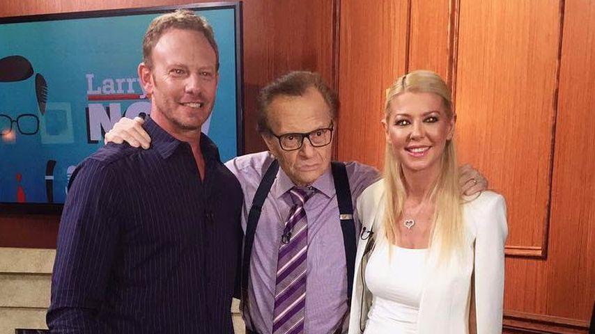 Ian Ziering, Larry King und Tara Reid