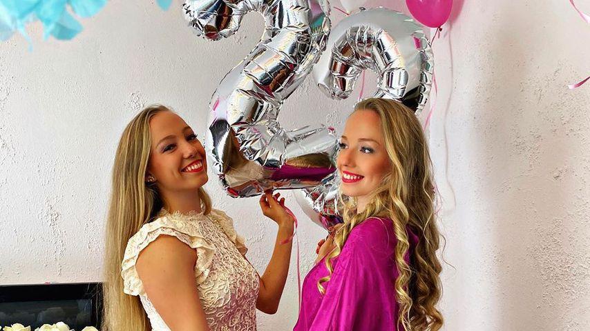 Yana und Tayisiya Morderger an ihrem 23. Geburtstag