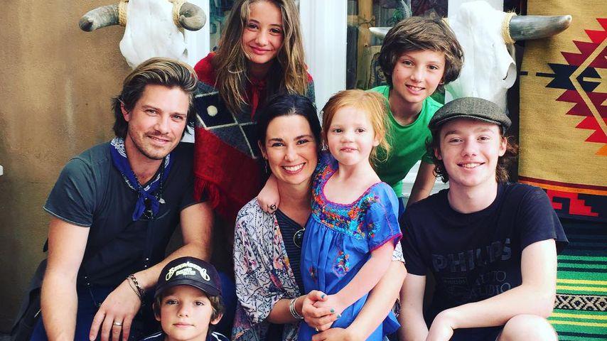 Taylor Hanson und seine Familie