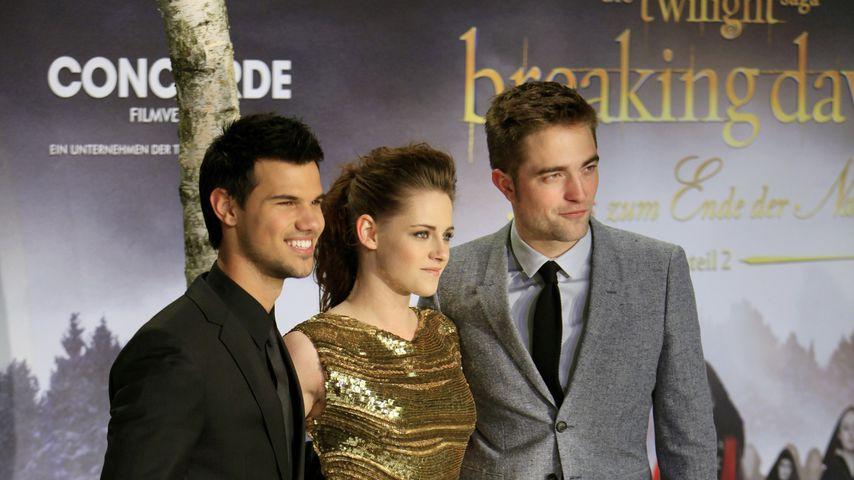 """Taylor Lautner, Kristen Stewart und Robert Pattinson, """"Twilight""""-Darsteller"""