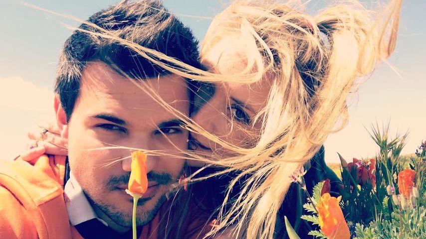 Frühlingsgefühle: Billie Lourd & Taylor Lautner voll in love