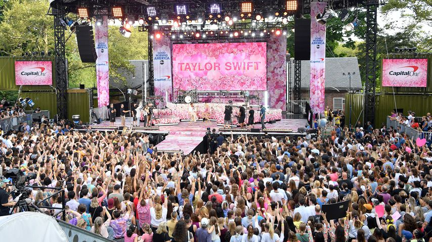 Taylor Swift im New Yorker Central Park