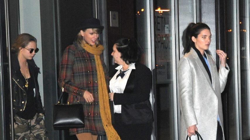 Taylor Swift, Kendall Jenner und Cara Delevingne