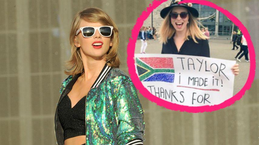 Flug verpasst: Taylor Swift hilft Fan aus der Patsche