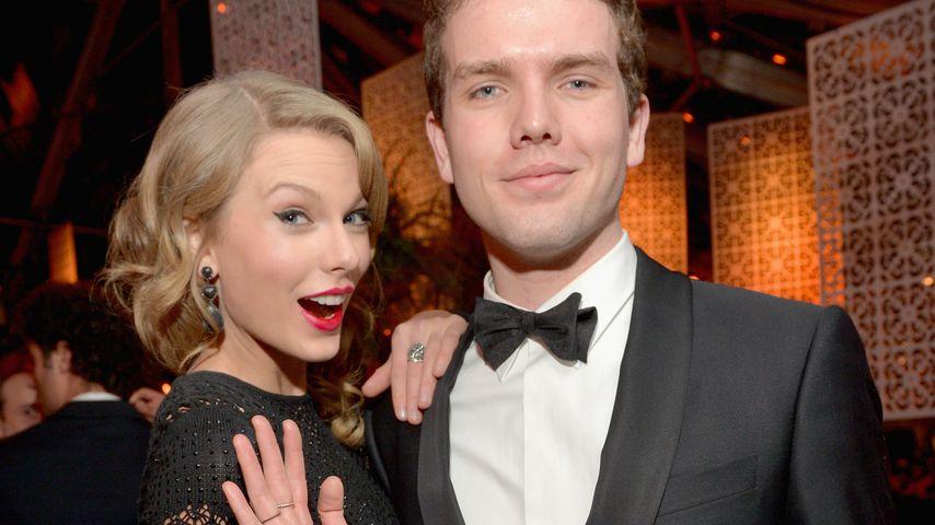 Taylor Swift mit ihrem Bruder Austin, Januar 2014