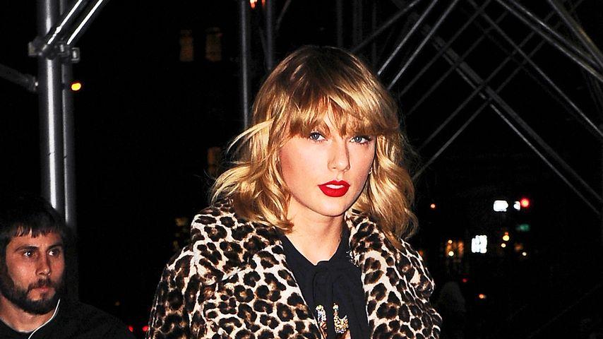 Taylor Swift im November 2016 auf dem Weg zu ihrem Apartment in New York