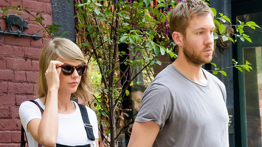 Taylor Swift & ihr Ex Calvin Harris in New York
