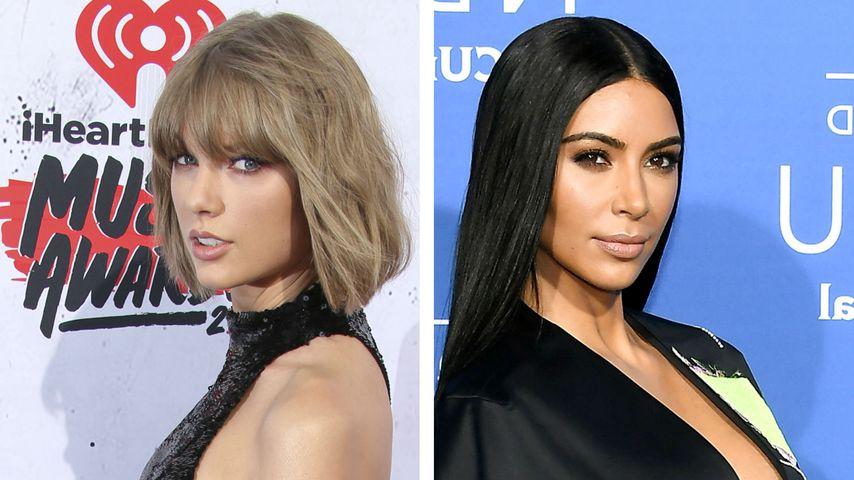 Wegen Taylor Swifts Clips? Kim K. blockt Schlangen-Emojis