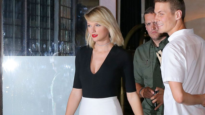 Taylor Swift verlässt das Greenwich Hotel in NYC