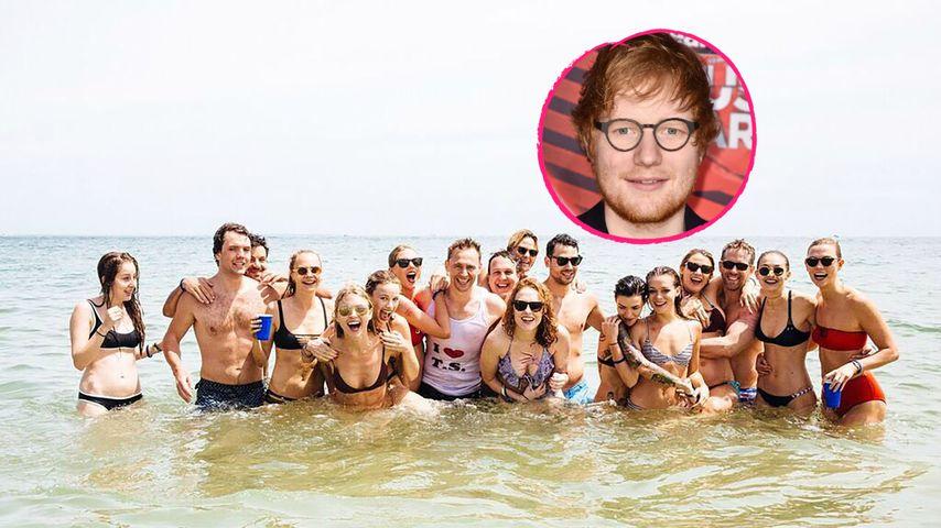 Ed Sheeran gibt zu: Er schleppte Taylor Swifts Clique ab!