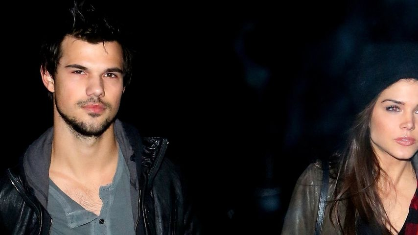 Hand in Hand: Taylor Lautner & Marie ganz verliebt
