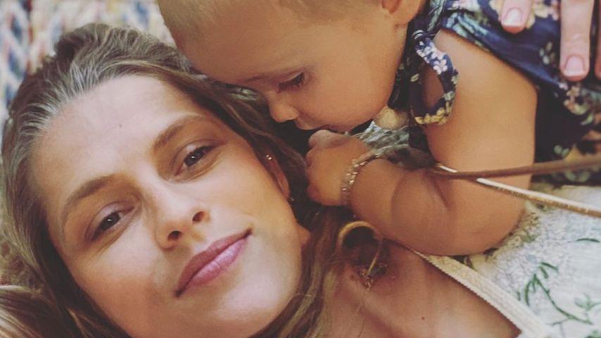 Teresa Palmer mit ihren Kindern, Januar 2020