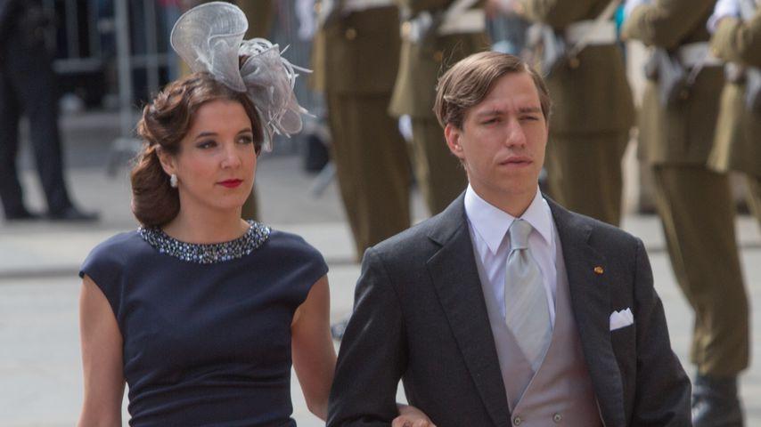 Tessy Antony und Prinz Louis von Luxemburg beim Luxemburger Nationalfeiertag 2015
