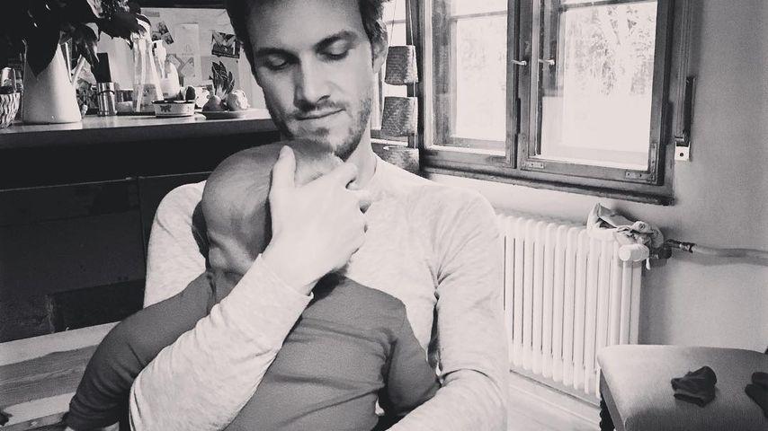 Thaddäus Meilinger mit seinem mittleren Sohn