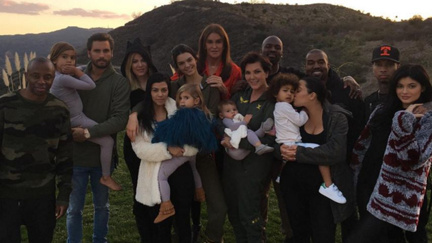 Mega-Sause! Kardashians feiern großes Thanksgiving-Spektakel