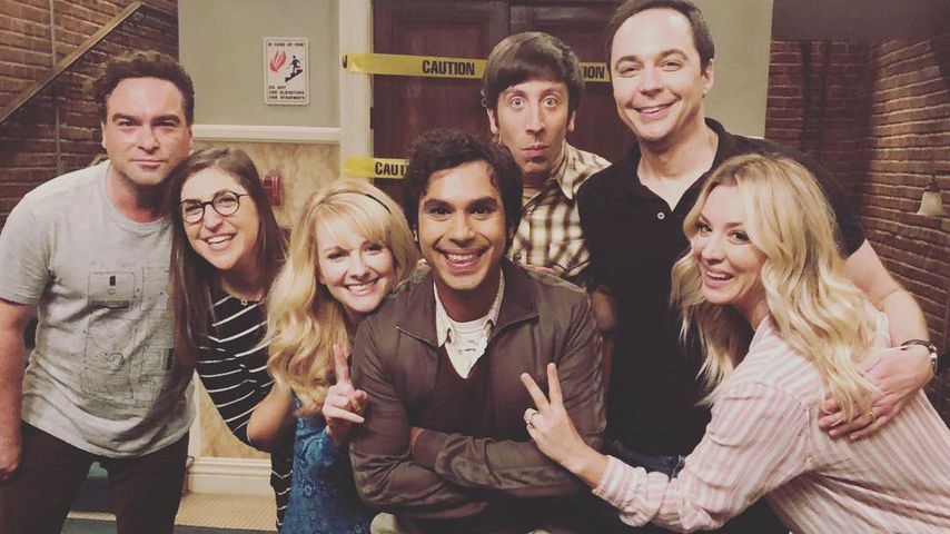 """The Big Bang Theory""-Stars am Set"