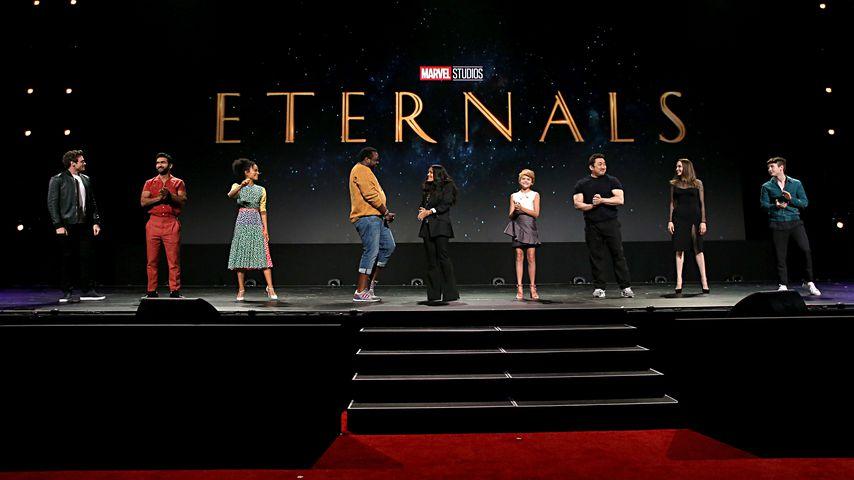 """""""The Eternals""""-Cast und Crew bei der Comic-Con in San Diego"""