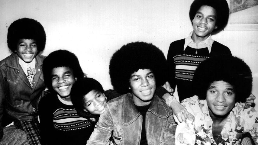 Die Band The Jackson 5 im Oktober 1972