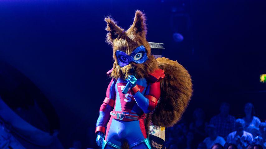 """""""The Masked Singer""""-Eichhörnchen"""