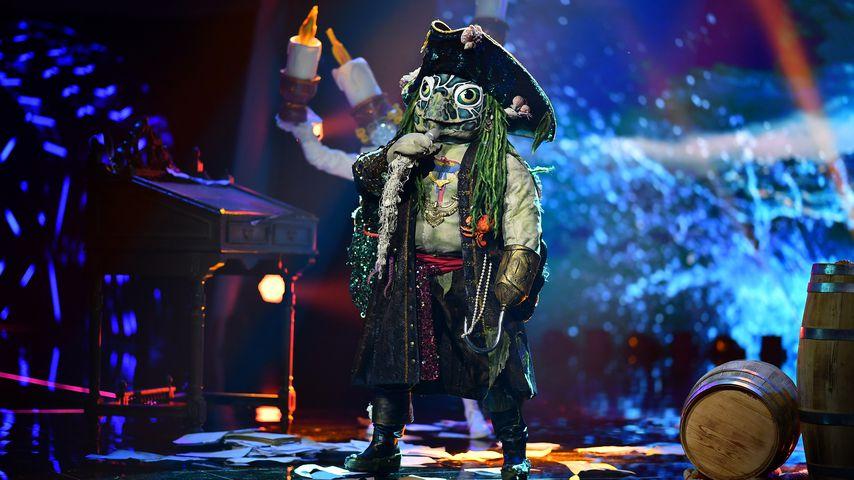 """""""The Masked Singer""""-Schildkröte in der dritten Show im März 2021"""