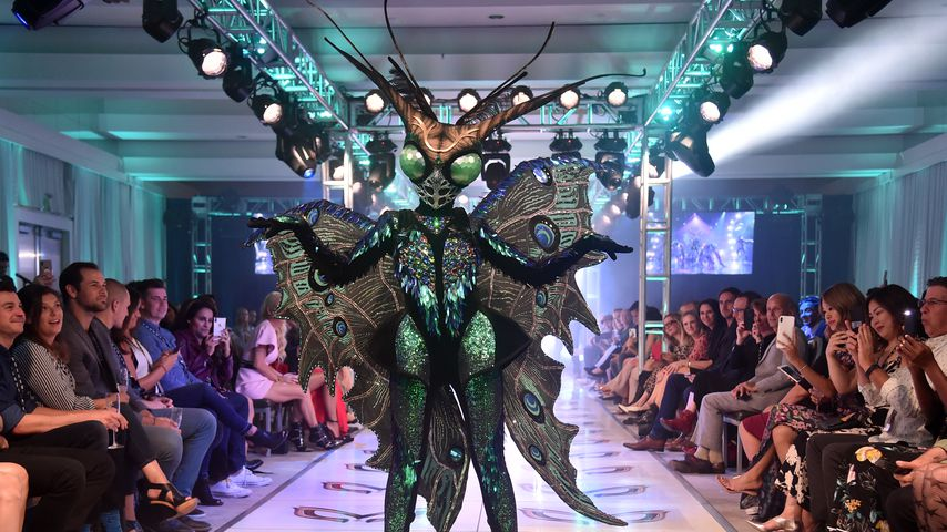 """Schmetterlings-Kostüm aus der zweiten Staffel der US-Version von """"The Masked Singer"""""""