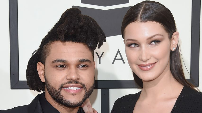 The Weeknd und Bella Hadid bei den Grammy Awards 2016 in Los Angeles