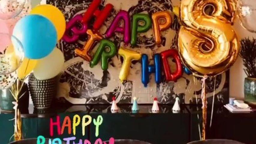 Theodora Rose Williams' Geburtstagstisch
