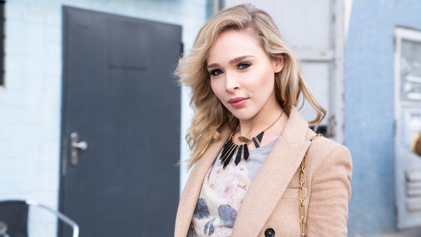 Theresia Fischer während der Fashion Week in Berlin, Januar 2020