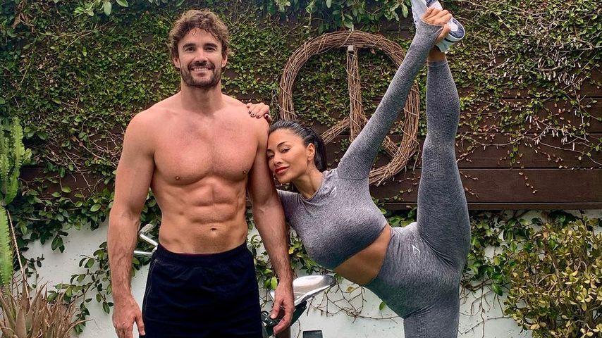 Thom Evans und Nicole Scherzinger im Oktober 2020