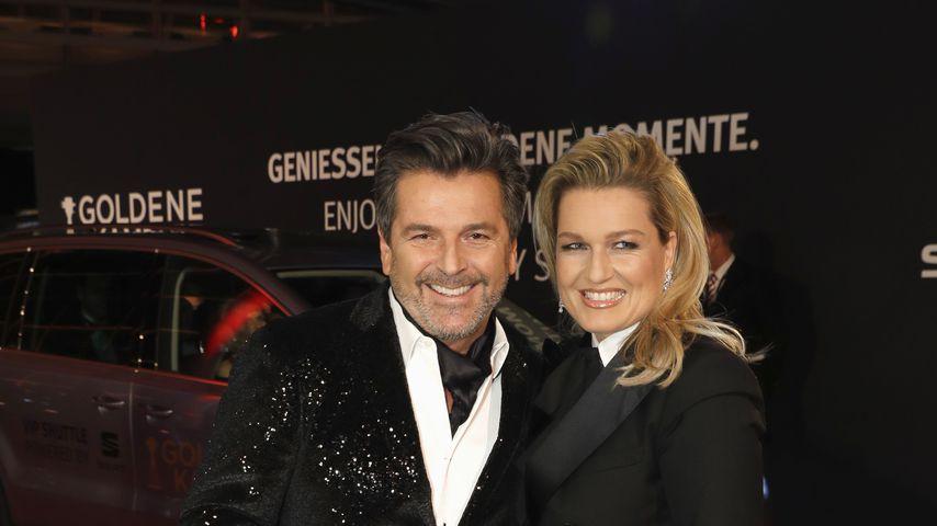 Thomas Anders und seine Frau Claudia bei der Goldenen Kamera 2017