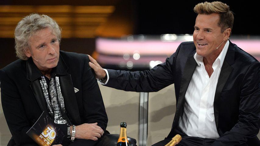 """Thomas Gottschalk und Dieter Bohlen bei """"30 Jahre RTL"""" im Dezember 2013"""