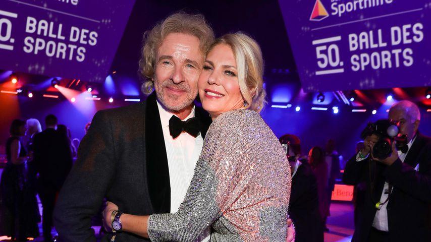 Thomas Gottschalk und Karina Mroß im Februar 2020
