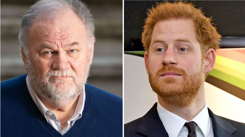 """Thomas Markle lästert: """"Prinz Harry ist ein unsicherer Mann"""""""