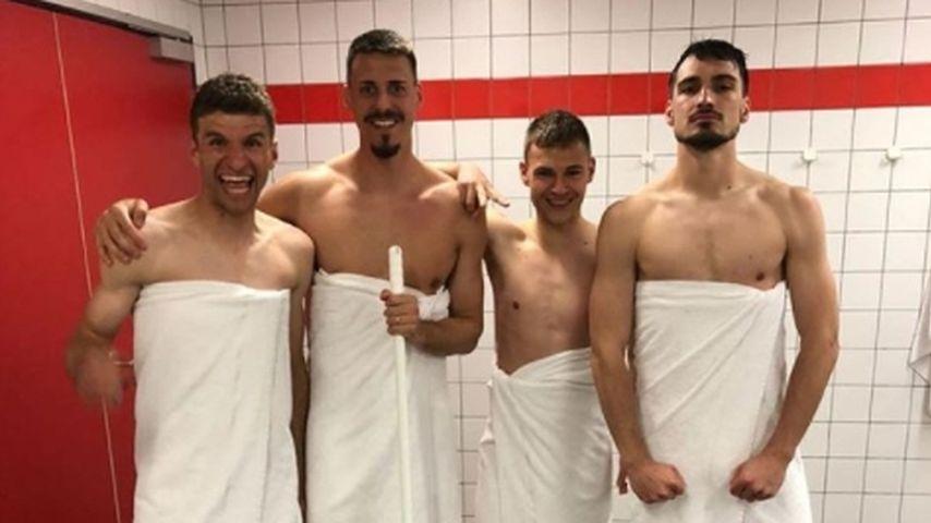 Heiße Bayern: Hummels, Müller & Co. als sexy Handtuch-Boys!