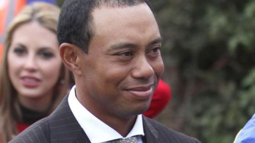 Tiger Woods ist wieder glücklich