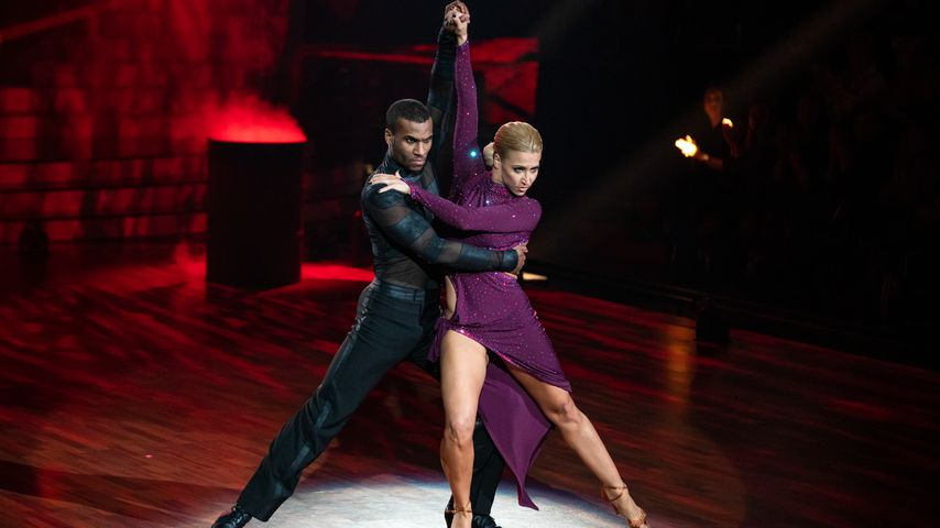 "Tijan Njie and Kathrin Menzinger in der ersten ""Let's Dance""-Show 2020"