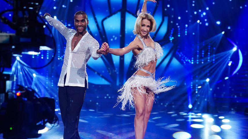 """Tijan Njie und Kathrin Menzinger während der 13. """"Let's Dance""""-Staffel"""