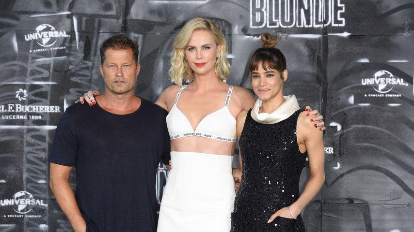 """Til Schweiger, Charlize Theron und Sofia Boutella bei der """"Atomic Blonde""""-Premiere in Berlin"""