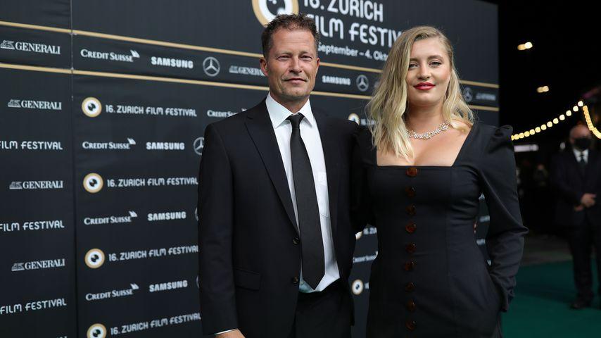 Til und Luna Schweiger im Oktober 2020 beim Zürich Film Festival