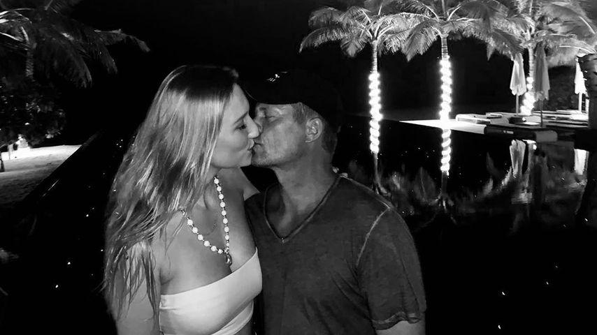 Sandra und Til Schweiger auf den Malediven, Feburar 2020