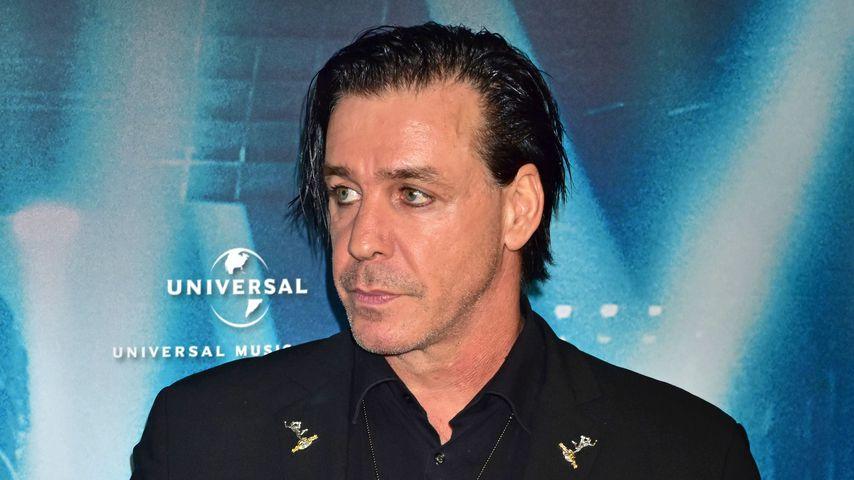 """Till Lindemann bei der Premiere von """"Rammstein: Paris"""" in Berlin 2017"""