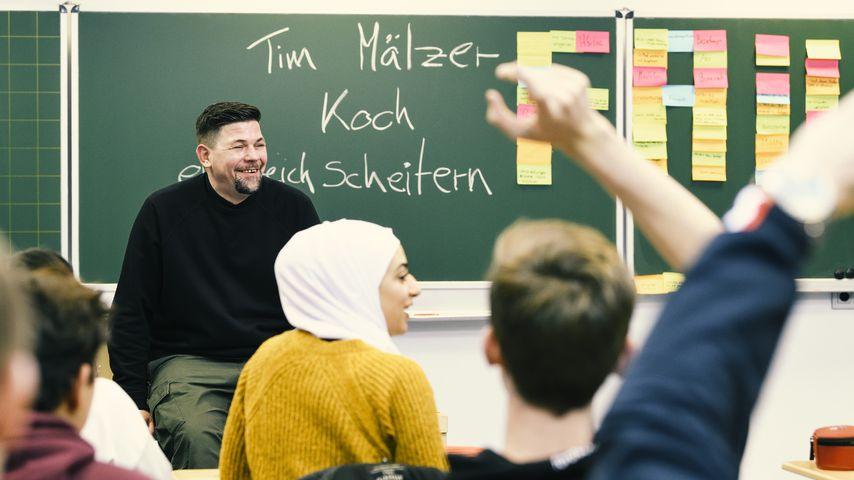 """Als """"Vertretungslehrer"""": Tim Mälzer spricht übers Scheitern"""