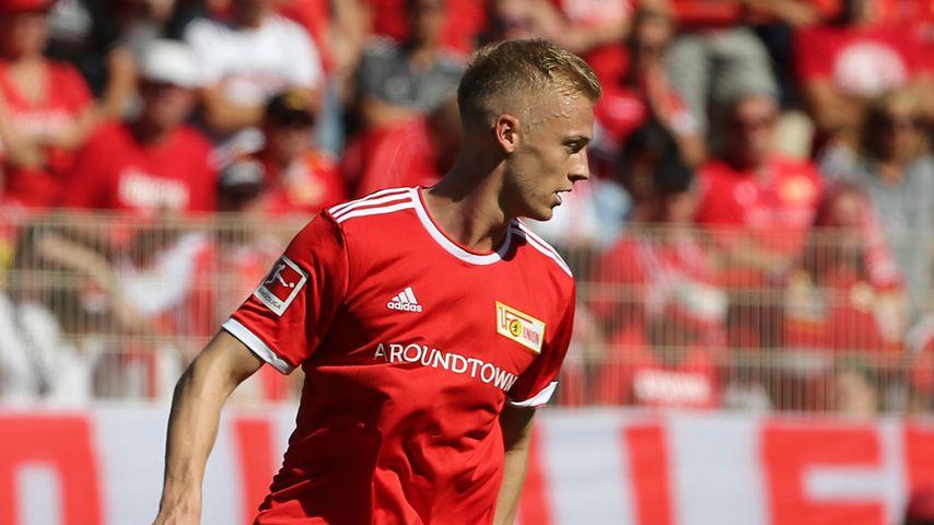 Timo Baumgartl beim Bundesliga-Spiel 1. FC Union Berlin gegen Bayer 04 Leverkusen, 14. August 2021