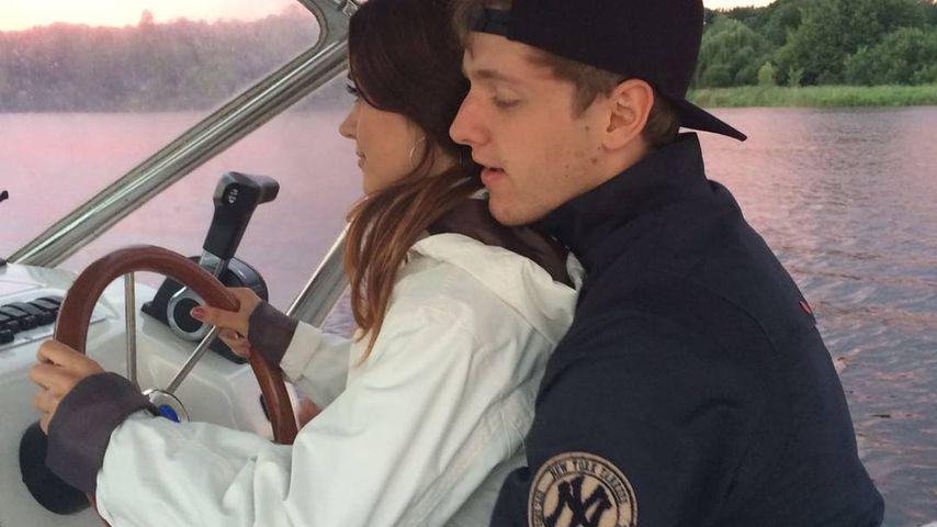 Timur Bartels und seine Freundin Michelle Math