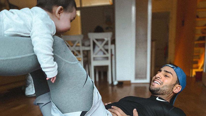 GZSZ-Star Timur Ülker bei süßem Home-Work-out mit Baby Ilay