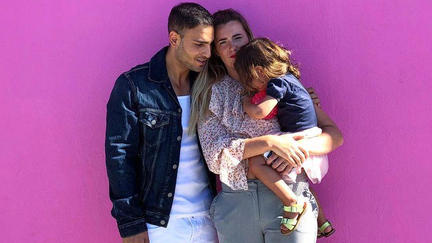 Timur Ülker mit seiner Freundin und der gemeinsamen Tochter