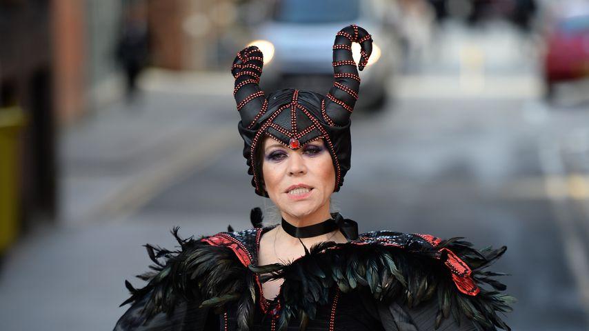 """Tina Malone als böse Hexe aus """"Dornröschen"""""""